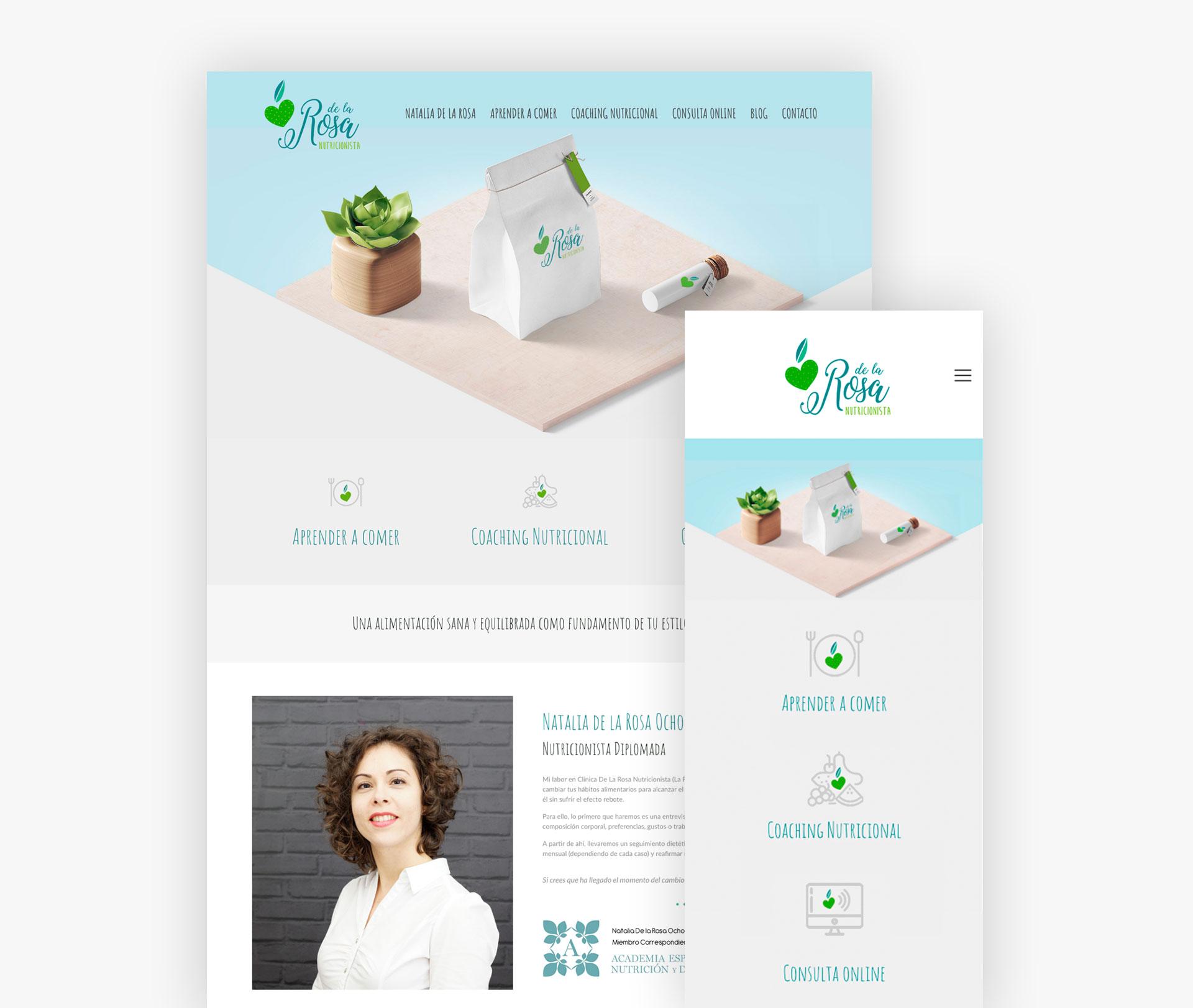 Web de nutricionista