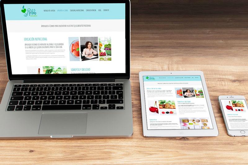 Web de nutrición