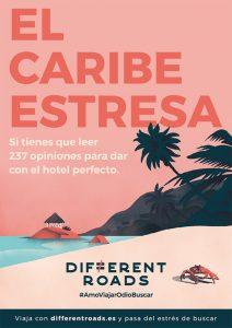 Campaña de publicidad Agencia de Viajes.